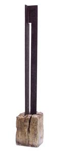 Porta para a justiça - Escultura de Corte e Dobra Vertical - Amilcar de Castro