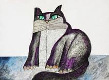 Meu Gato Roxo - Aldemir Martins