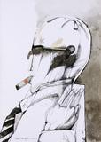 Fumante de Charuto - Aldemir Martins