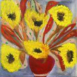 Vaso Com Flores - Osmar Santos