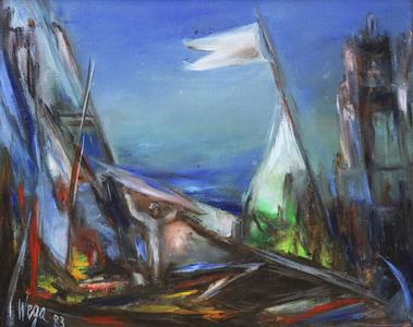Silêncios no mar - Wega Nery