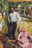 Fotos de revista 2: Homem e fantoche, depois de Edgar Degas - 1/6 - Vik Muniz
