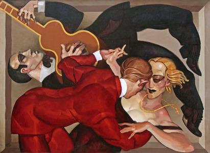 Dança em cetin - Juarez Machado
