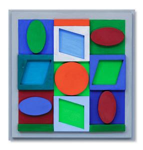 Turquiz positif - 2/50 - Victor Vasarely