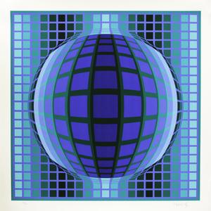 Detvoe - 268/300 - Victor Vasarely