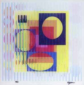 Yellow haze - 68/99 - Yaacov Agam