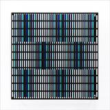 Vibration bandes noir, bleu et turquoise - 5/15 - Antonio Asis
