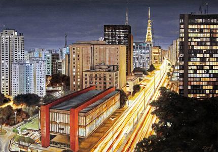 Vista da Av. Paulista - Carlos Eduardo Zornoff