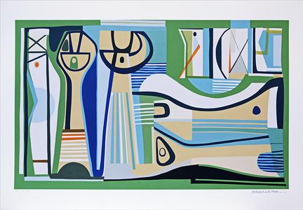 Sem título - 14/100 - Roberto Burle Marx