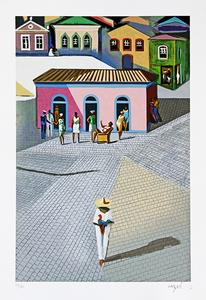 O galista - 91/200 - Carybé (Hector Julio Páride Bernabó)