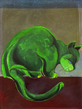 Bichano verde - Aldemir Martins