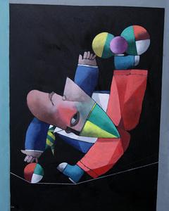 Equilibrista na corda bamba - Inos Corradin