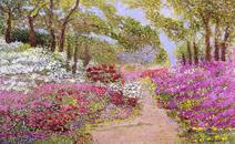 Caminho e flores - Marli Pereira Oliveira