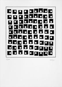 Rotation de carrés - 90/200 - Le Parc, Julio