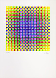 Surface couleur - 90/200 - Julio Le Parc