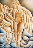 Leda e o cisne - Vicente do Rego Monteiro