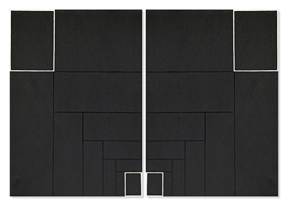 Díptico - Preto/branco - Cesar Caldas