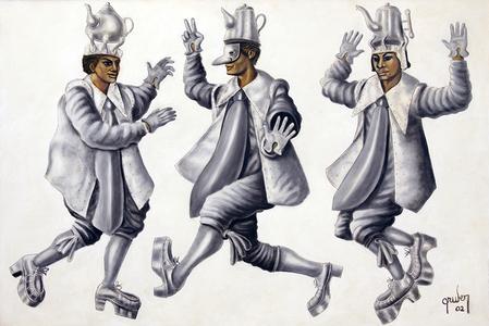 3 figuras - Mario Gruber