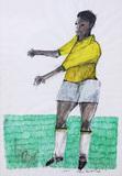 O jogador da seleção - Aldemir Martins