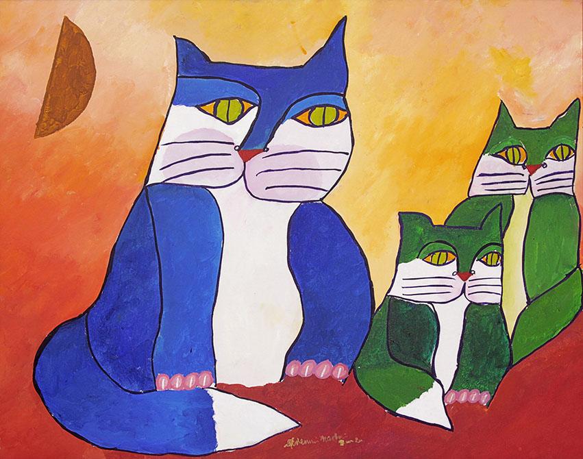 Familia-de-gatos-aldemir-martins