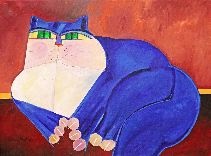 Gato-azul-aldemir-martins
