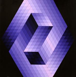 Sem título - 100/200 - Victor Vasarely