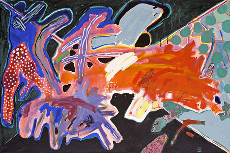 A pintura com alguns tons - Luiz Aquila