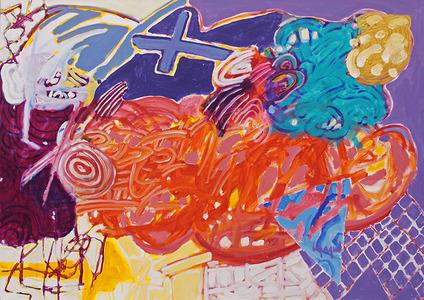 A pintura cheia de assunto - Luiz Aquila