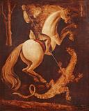 São Jorge e o dragão - Orlando Teruz