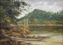 Ponte Pensil - São Vicente - Sizenando Calixto