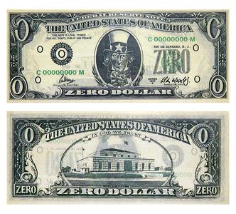 Zero Dollar - Cildo Meireles