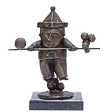 Equilibrista com bastão - 23/100 - Inos Corradin