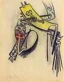 Montée des sèves - 37/262 - Wifredo Lam