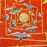 Orizuru vermelho - Kazuo Wakabayashi