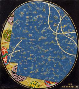 Temari azul - Kazuo Wakabayashi