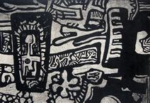 Homem e flor destruídos - Odetto Guersoni