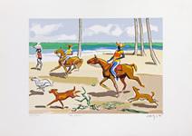 Na praia - 69/200 - Carybé (Hector Julio Páride Bernabó)