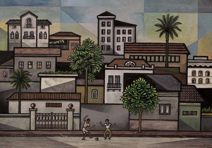 Velho São Paulo - Rua do Óleo - Bela Vista - Odetto Guersoni
