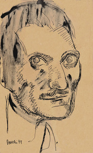 Auto retrato - Aldo Bonadei