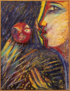 Beijo em relevo - Rubens Gerchman