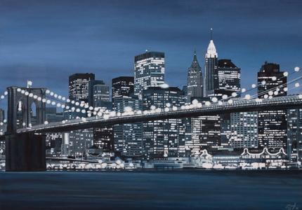 New York em azul - Carlos Eduardo Zornoff