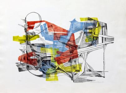 Eleodásia I - P.A. - Roberto Burle Marx