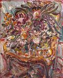 Flores sobre a poltrona - Sou Kit Gom