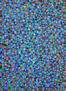 Ice blue stars - Marysia Portinari