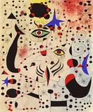 Chiffres et constellations amoureux d'une femme - Joan Miró