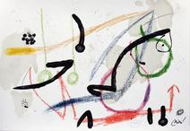 Maravillas con variaciones acrósticas en el jardin de Joan Miró, mod. 7 - Joan Miró