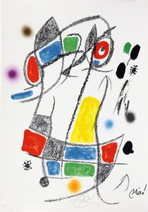 Maravillas con variaciones acrósticas en el jardin de Joan Miró, mod. 1 - Joan Miró