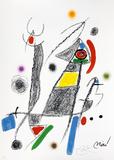 Maravillas con variaciones acrósticas en el jardin de Joan Miró, mod. 6 - Joan Miró