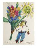 Cartão para Cora 1968 - Aldemir Martins