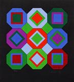 Sem título - 91/100 - Victor Vasarely